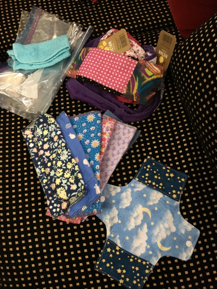 kitenge sanitary pad kit